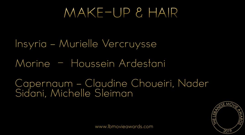 Best Make-Up & Hair