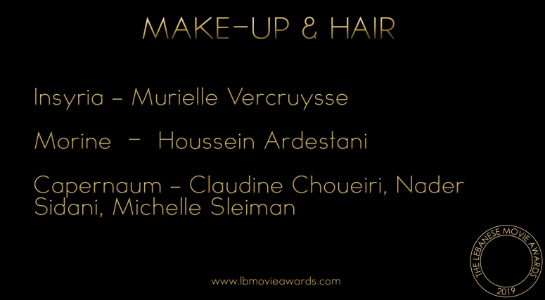Best Make-Up & Hair